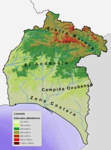 Provincia de Huelva  Wikipedia la enciclopedia libre