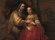Рембрандт, «Еврейская невеста» 1665