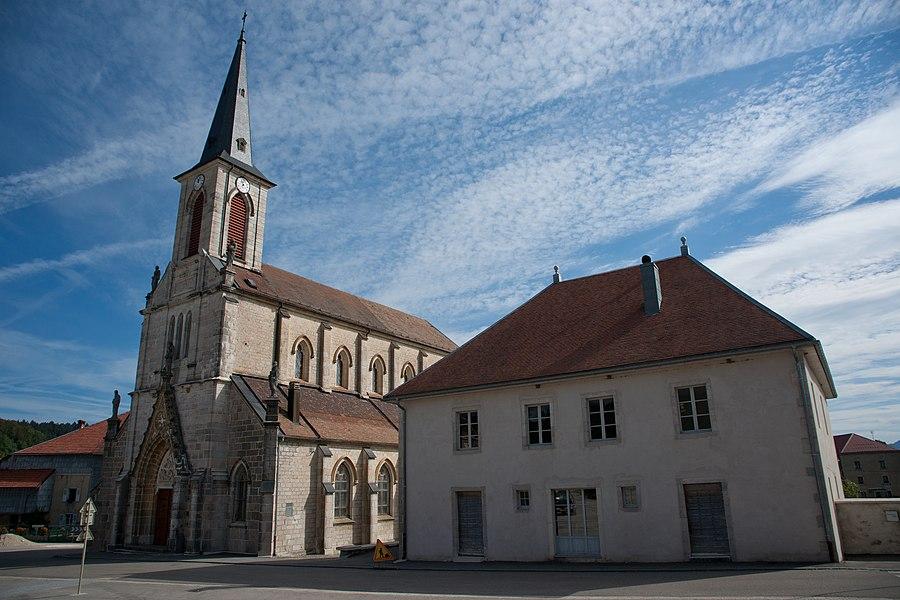 Remoray-Boujeons - Presbytère et église