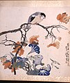 Ren Bonian - Bird on Maple Branch with Morning Glories - Walters 35101J.jpg