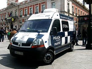 Policía Municipal de Madrid - Renault Master