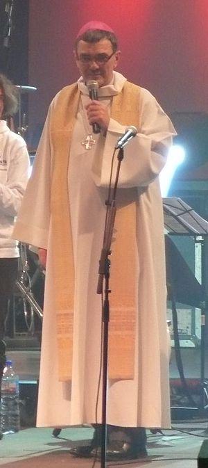 Roman Catholic Diocese of Saint-Brieuc -  Bishop Denis Moutel