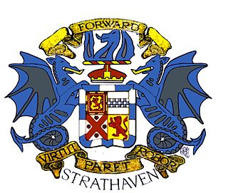 Strathaven Human settlement in Scotland