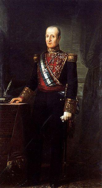 José Ramón Rodil, 1st Marquess of Rodil - Image: Retrato del general Rodil (Dionisio Fierros Álvarez)