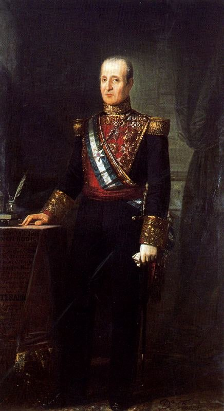 Retrato del general Rodil (Dionisio Fierros Álvarez)