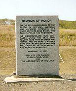 Reunion of Honor memorial on Iwo Jima
