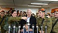 Reuven Rivlin lit a sixth candle of Chanukah with the fighters and fighters of the Shahar Battalion (0415).jpg