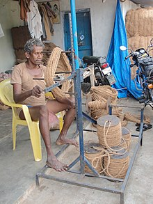 Rewinding of coconut coir pith rope.jpg