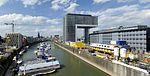 Rheinau Sporthafen und Kranhaus 1 - Rheinauhafen Köln.jpg
