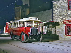 Bus preservation in the United Kingdom - 1927 preserved bus