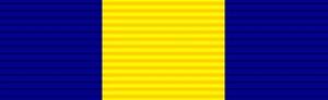 Merit Medal in Silver - Decoration for Merit in Gold (DMG)