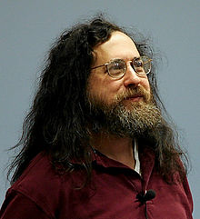 Richard Stallman, fondateur de la free software fondation