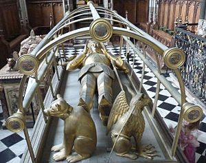 Richard Beauchamp, 13th Earl of Warwick - Image: Richard de Beauchamp effigy Warwick Church