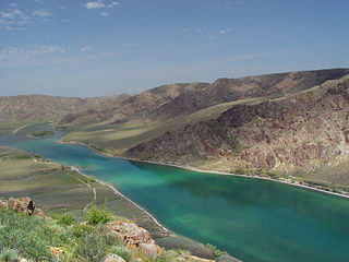river in Kazakhstan and China