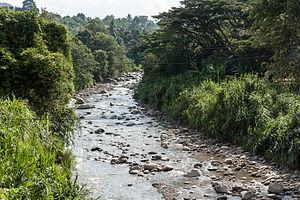Liwagu River - Liwagu River in Ranau.