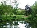Riverside lawn with ducks, Barton Mills - geograph.org.uk - 1309896.jpg