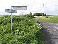Road junction, Fishmere End Road, Wigtoft, Lincs - geograph.org.uk - 172929.jpg