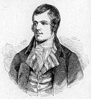 Robert Burns inspired many vernacular writers across the Isles