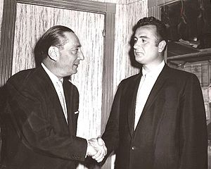 Robert Harrison (publisher) - Robert Harrison and Richard Weldy, 1956