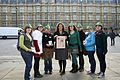 Robin Hood Tax supporters descended on the Houses of Parliament (6306055480).jpg