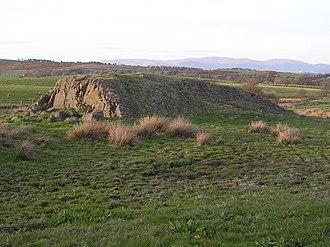 Roche moutonnée - Roche moutonnée near Myot Hill, Scotland