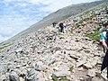 Rocky climb to summit of Ben Nevis - geograph.org.uk - 856824.jpg