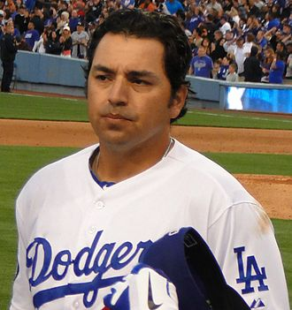 Rod Barajas - Barajas with the Los Angeles Dodgers in 2011