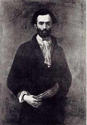Leon Kapliński - Portrait of Leon Kapliński by Henryk Rodakowski
