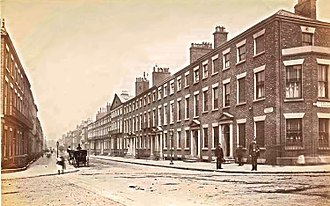 Rodney Street, Liverpool - Rodney Street, Liverpool circa 1885