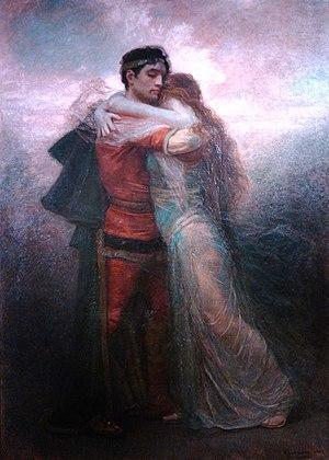 Tristan - Tristán e Iseo (La vida) by Rogelio de Egusquiza (1912)