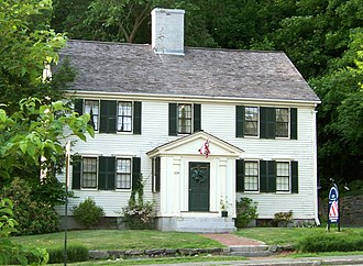 National Register of Historic Places listings in Concord, Massachusetts - Image: Roger Brown House