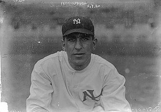 Roger Peckinpaugh - Peckinpaugh with the New York Yankees