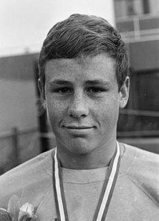 Roger van Hamburg Dutch swimmer