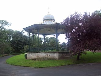 Roker Park (park) - The bandstand.