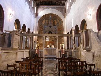 Templon - Santa Maria in Cosmedin, Rome