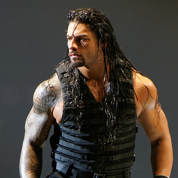 Roman Reigns at a WWE show on November 8, 2013.