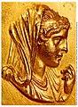 Roman medallion with Olympias.jpg