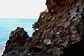 Roques a l'accés de la cova Tallada.JPG