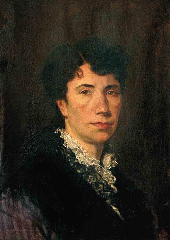 Rosalía por Brocos en 1880.