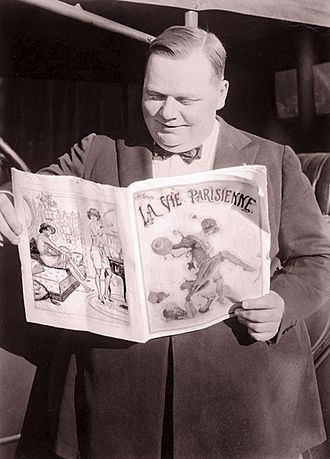 Roscoe Arbuckle - Image: Roscoe Arbuckle Ret