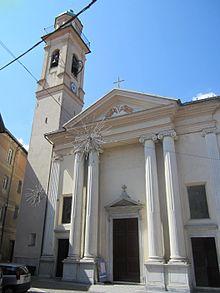 La chiesa di Santa Caterina a Rossiglione Superiore
