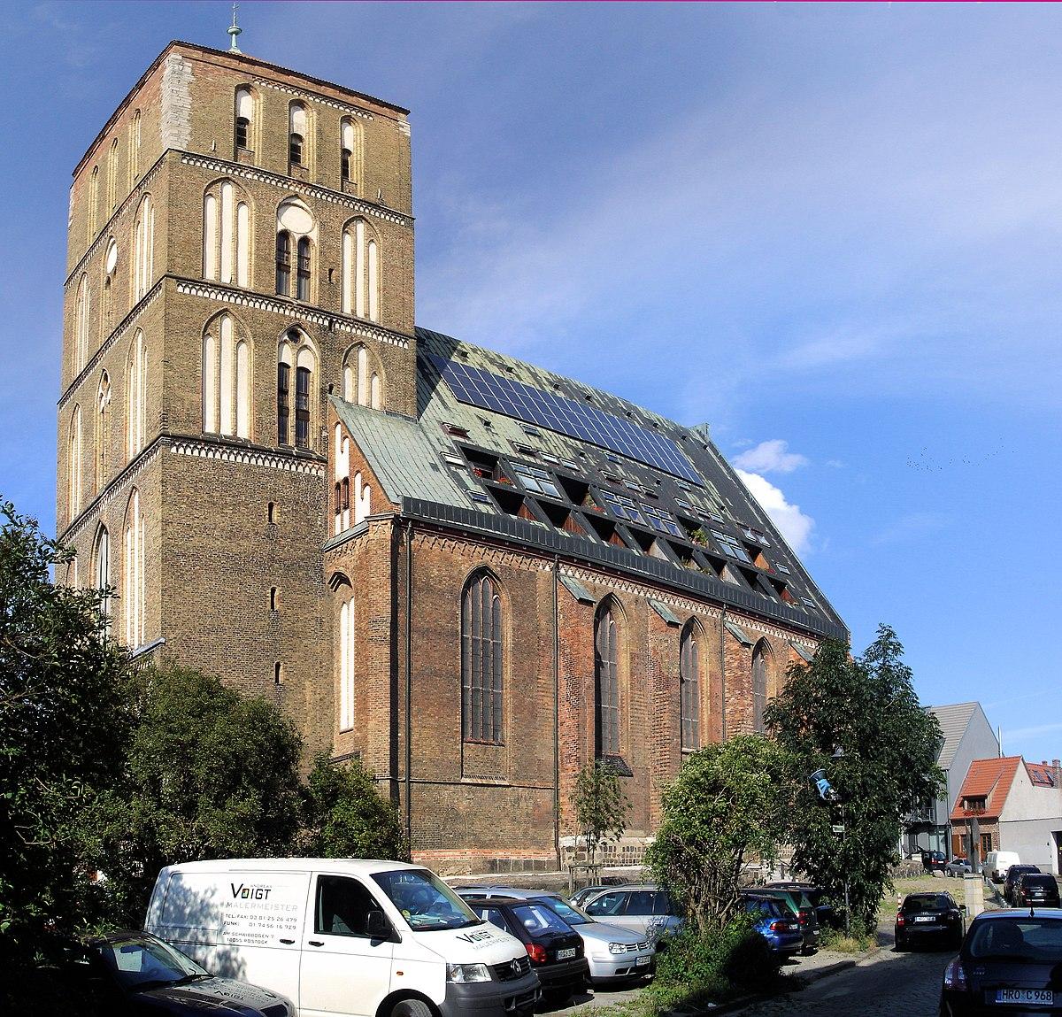 Ostermarkt Nikolaikirche Rostock