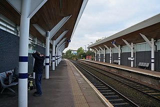 Rotherham Central station Railway station and tram stop in Rotherham, South Yorkshire, England
