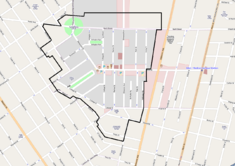 Rough Allentown Historic District map.png