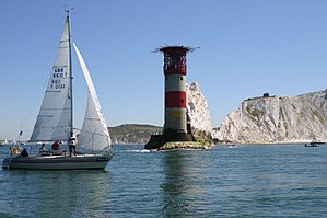 Round the Island Race 2006 at the Needles.jpg