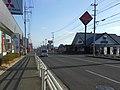 Route 208 Kanjō Nishidōri street in Shin'ei-higashi Saga.JPG