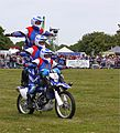 Royal Artillery Motorcycle Display Team at Rutland County Show - Flickr - mick - Lumix.jpg