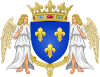 Royal Coat of Arms of Valois France.svg