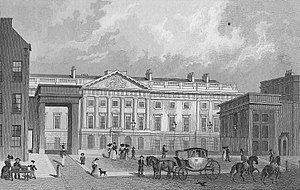 Royal Mint Court - The Royal Mint, Tower Hill, London in 1830.