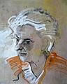 Rudolf Heinisch, Alte Frau - Portrait der Mutter, 1940.JPG